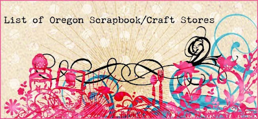 List of Oregon Scrapbook / Craft Stores