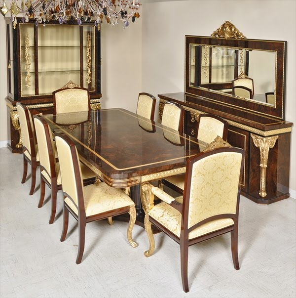 Complete Set Of French Empire Dining Room
