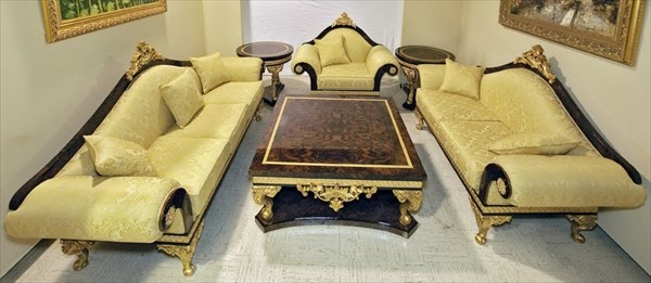 French Empire Living Room