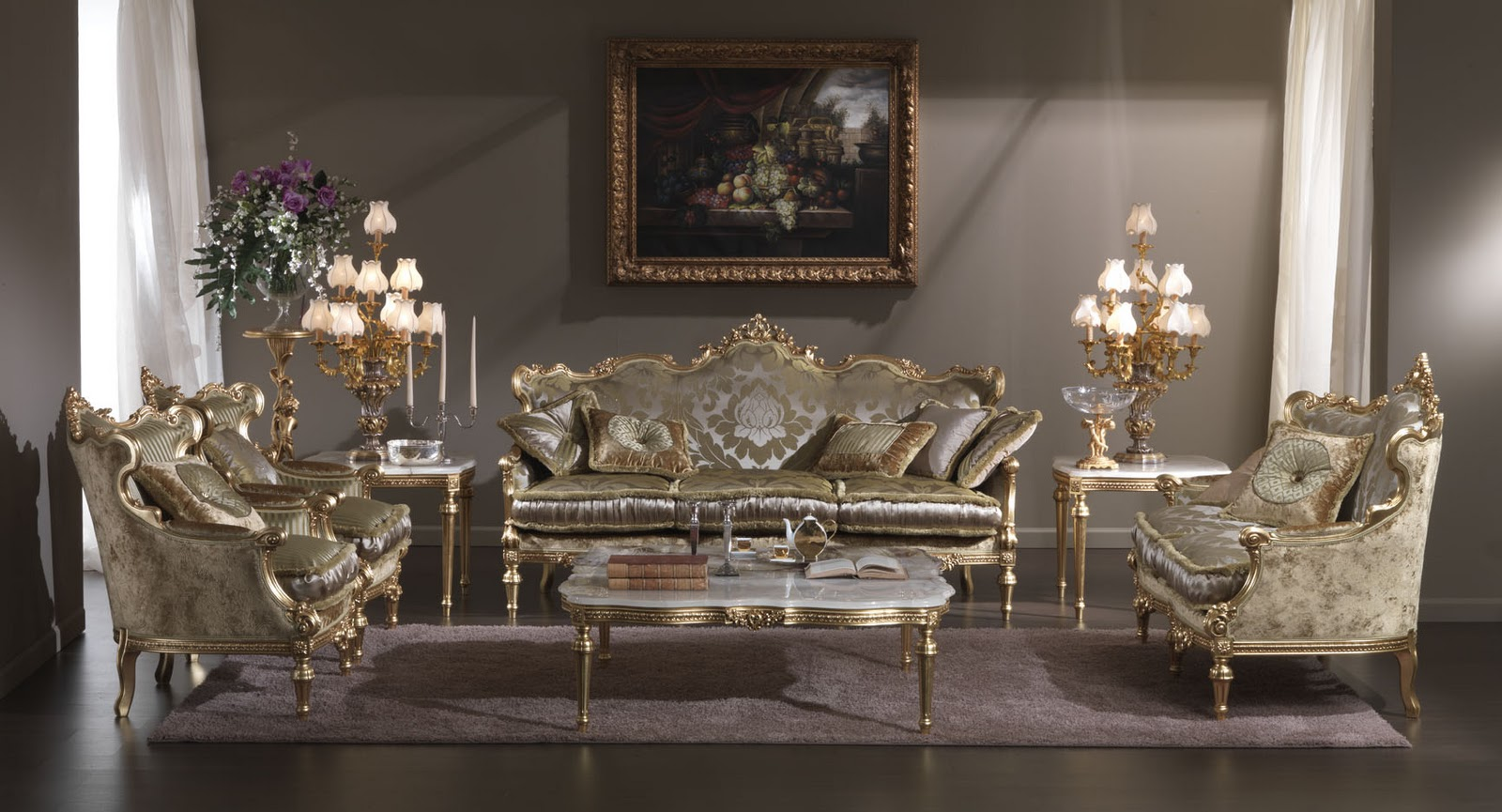 Antique italian classic furniture classical italian for Classic furniture