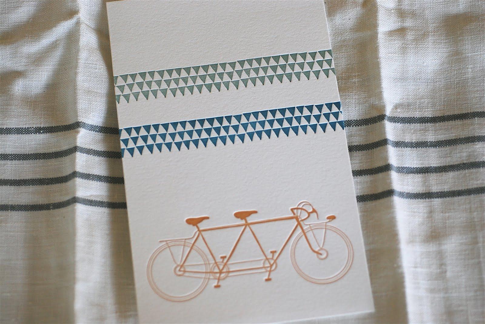 new card + print from satsuma press poppytalk handmade artists