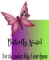 Blog award from my mentor, Dawn