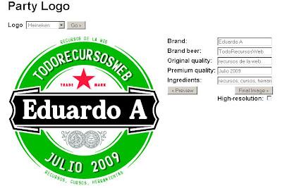 Generador de logos de cervezas eduardo anaya todo for Generador de logos