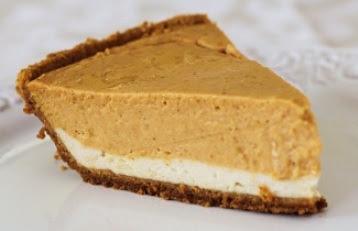 EasyBakes: Double-Layer Pumpkin Cheesecake