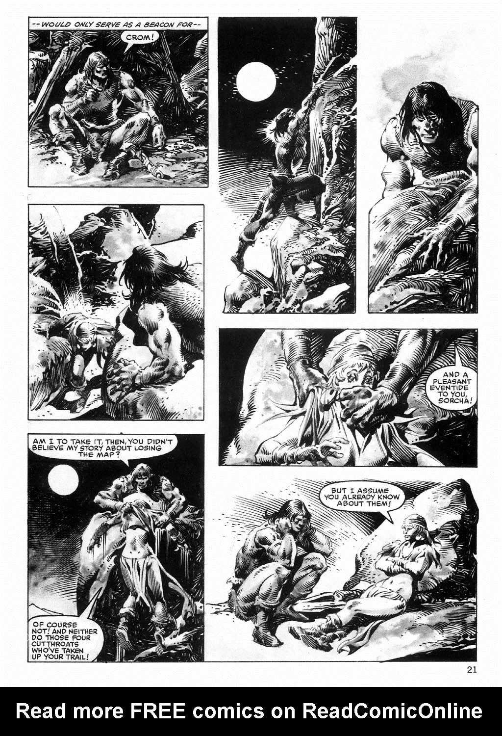 The Savage Sword Of Conan Issue #98 #99 - English 21