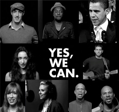 Yes, We can! Powerful Barack Obama campaign music video