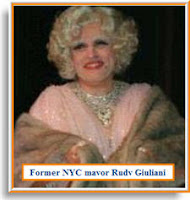 video: Former NYC mayor Rudy Giuliani in drag