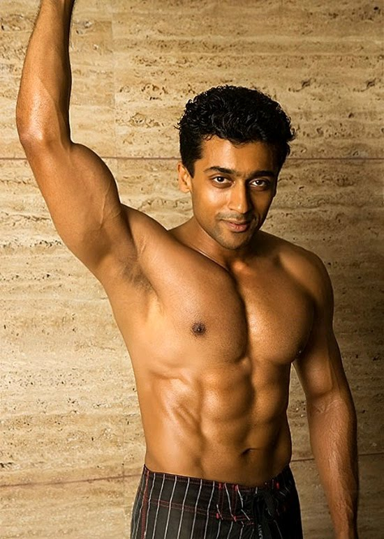 Tamil Maacho Hero Surya 8 Pack Body Stills