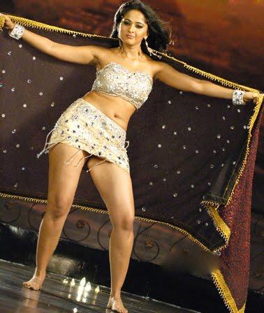 Hot Anushka Shetty In skirt