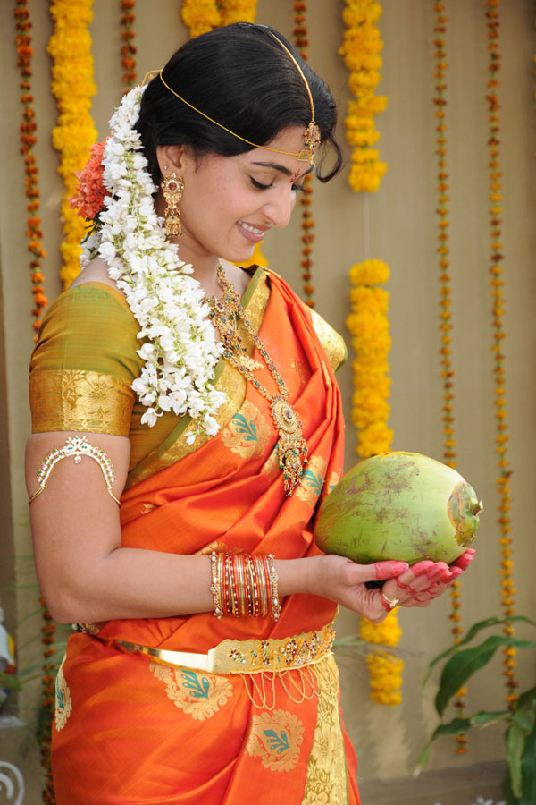 Film Actors And Actress Photo Gallery Anushka Shetty Cute Saree Photos Images