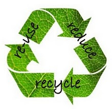 ♥ Recycle ♥ Reuse ♥