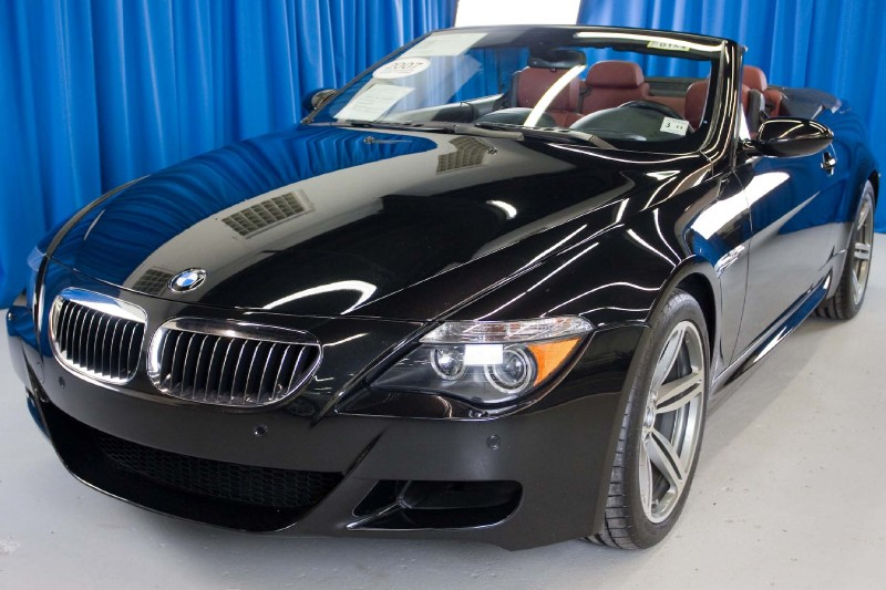 Bmw M6 Convertible. Bmw M6 Convertible Red