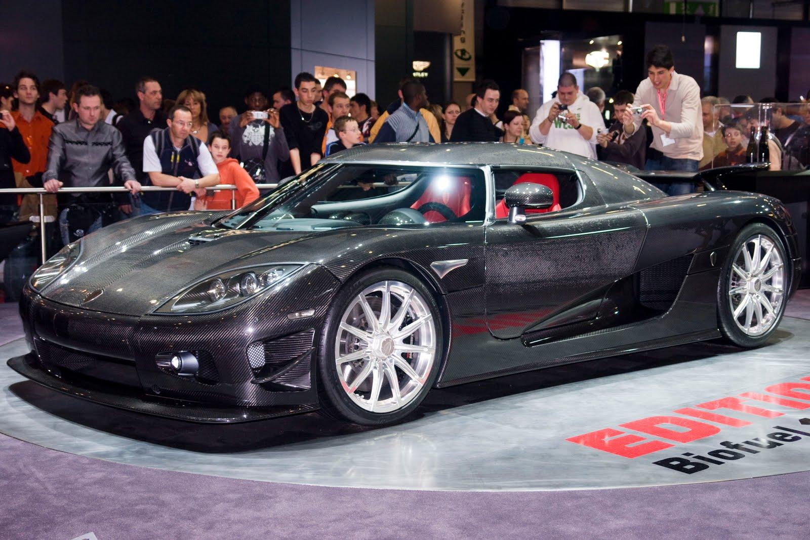 Koenigsegg CCXR - the new