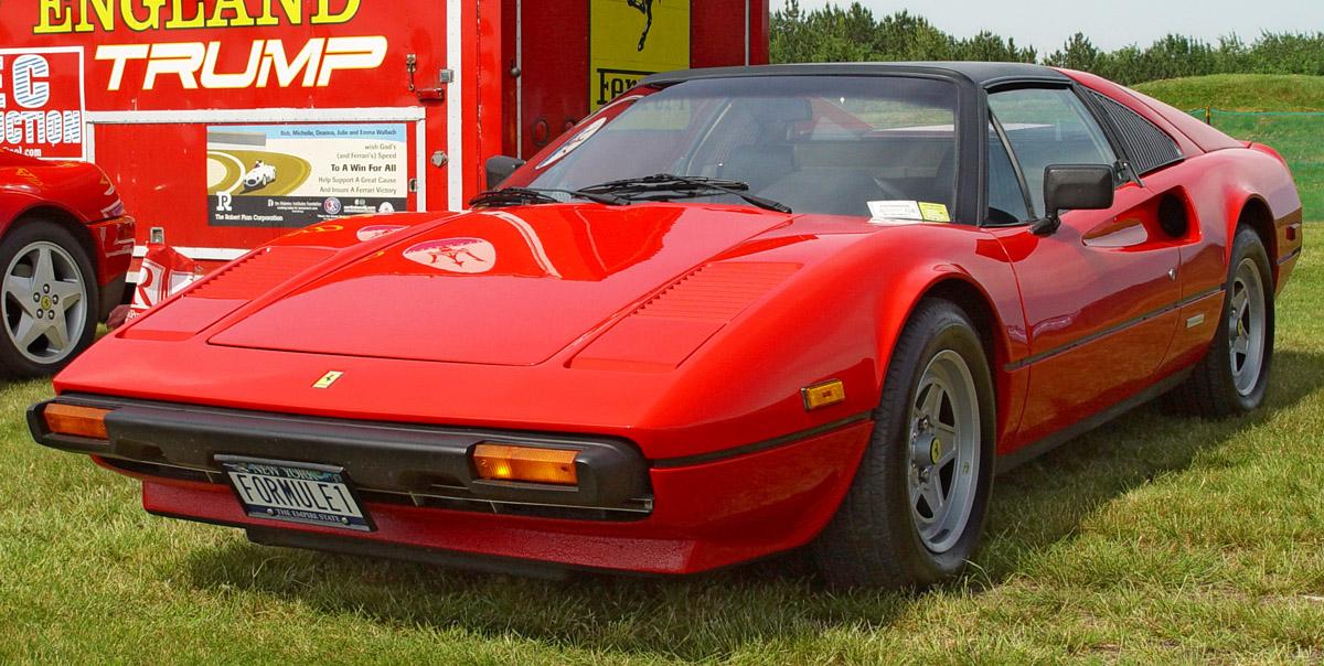Ferrari 308 Gtsi. Auto Car | 1982 Ferrari 308