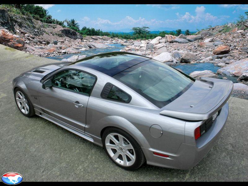 2006 Saleen Ford Mustang S281 Scenic Roof. Auto Car | Saleen S281 Scenic