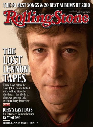 jennifer aniston cover rolling stone. [MAGAZINE COVER] John Lennon