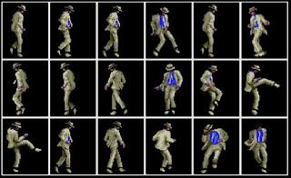 O passo moonwalker. Michael Jackson virou até videogame.