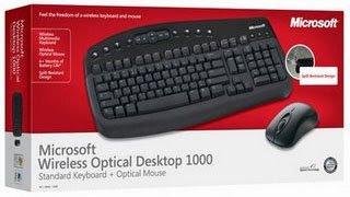 MS Teclado e Mouse