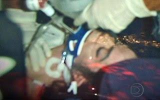 Michael Jackson pouco antes de ser declarado morto