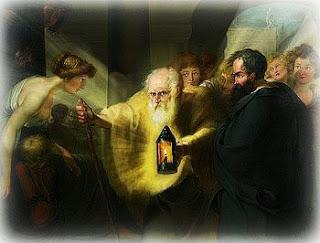 Diógenes procura um homem