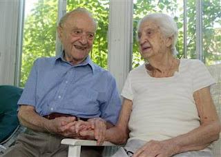 O casamento mais duradouro: John e Amelia Rocchio
