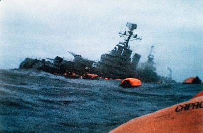 Afundamento do cruzador argentino General Belgrano