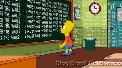 Bart versão Banksy