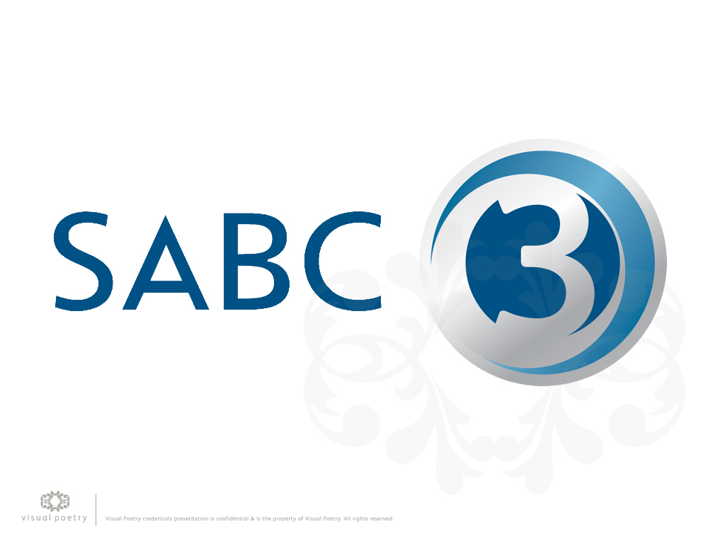 Visual Poetry Credentials: Brand Evolution / SABC 3