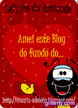 Ganhei do blog Adoleta. Lindinho!!!!