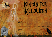 Unlike the other free Halloween invitation template I posted, which is very .