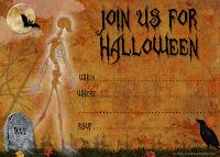 Free Halloween Templates For Invitations Free Halloween ...