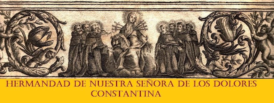 Hermandad de los Dolores Constantina