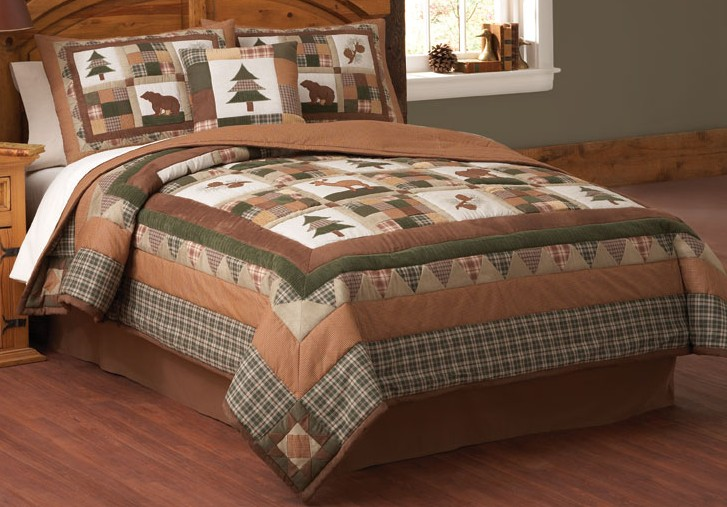 cabin creek bedding with moosehead lodge quilt you are