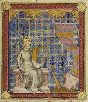 King David with harp