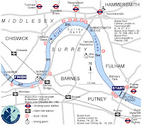 boat race route