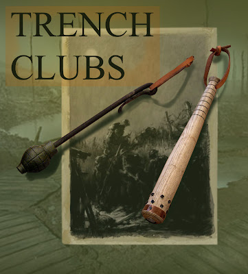 weapons of ww1. warfare Trench+weapons+of+