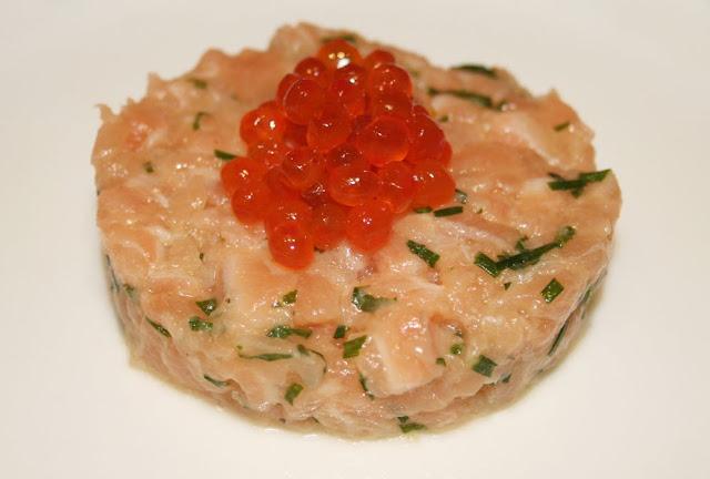 La cuisine de bernard tartare de saumon for Entree fraiche et rapide