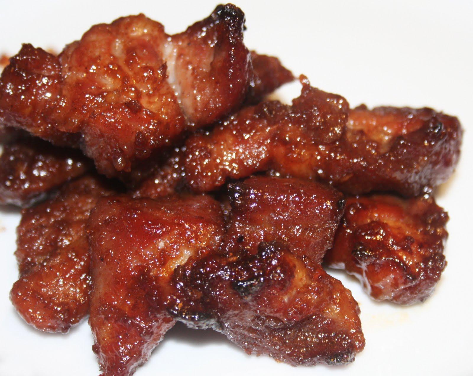 La cuisine de bernard porc rouge char siu - Recette paupiette de porc facile ...
