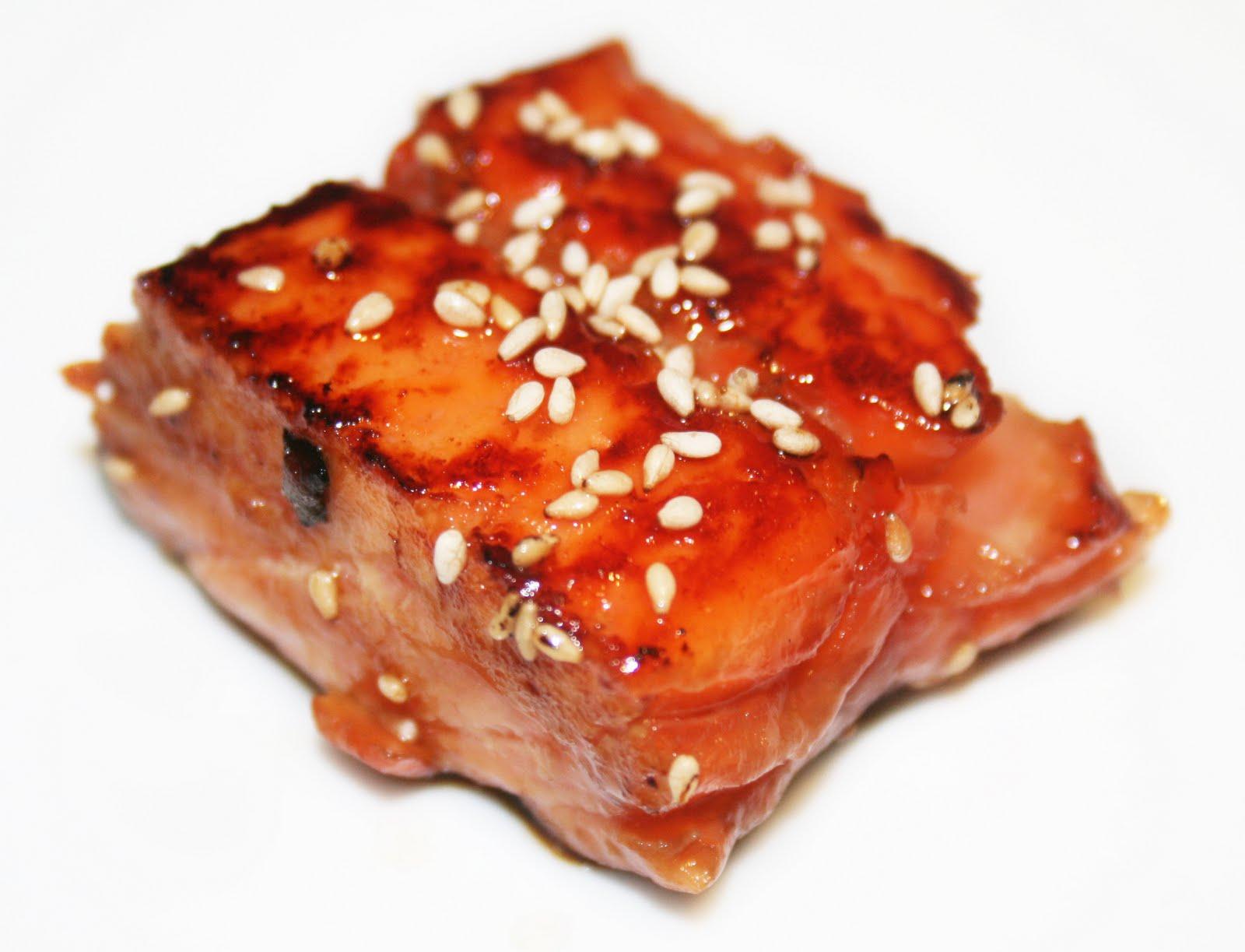 La Cuisine de Bernard : Mi-cuit de Saumon Teriyaki on