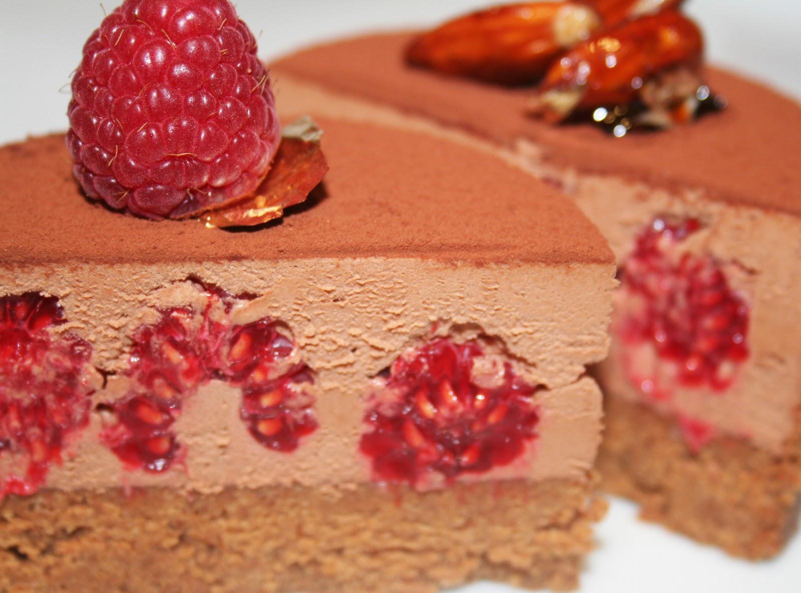 Gateau chocolat praline pate a sucre