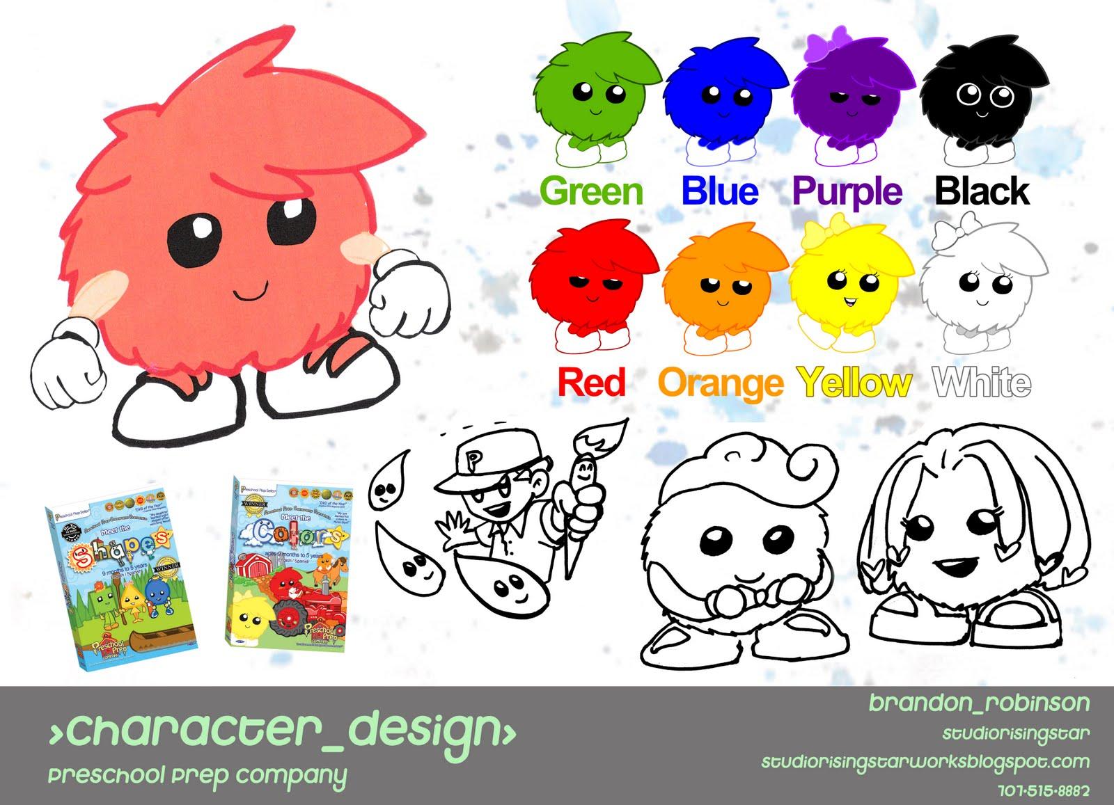 Character Design Companies : Studiorisingstar portfolio spot animation character