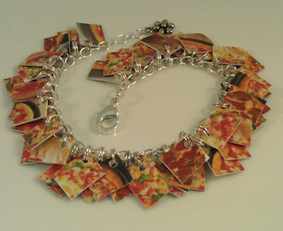 Pizza Mini Take Credit Bracelet