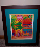 matted and framed Plaza print - click to enlarge