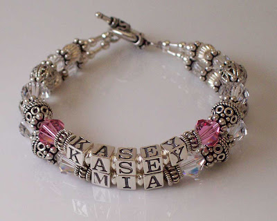 Kasey and Mia mother's bracelet