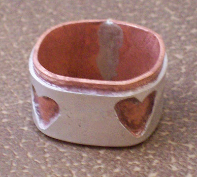 Almost finished ring