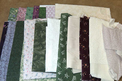 Fabric for table runner