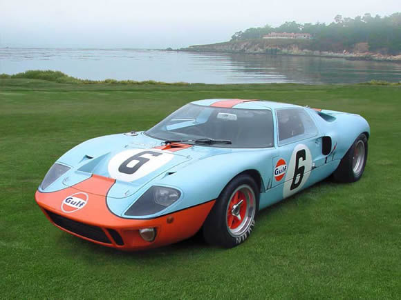 My Favourite Colour For The Ford Gt Is The Gulf Colours Run In  The Gulf Oil Company Sponsored The Original Gt Design Mk Ci V