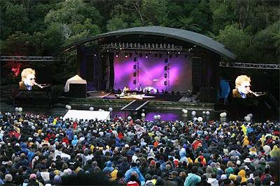 Elton John concert in New Zealand