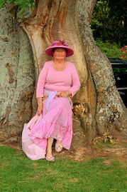The Lady In Pink Under A Tree!