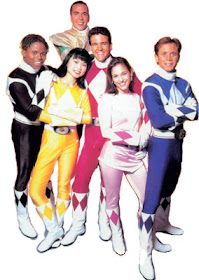 Color Rangers Color Rangers Color Coding Race In Tv S Mighty Morphin Power Rangers